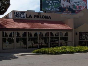 La Paloma Restaurant on Dyer Street