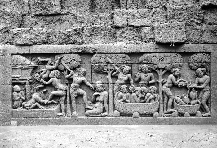 COLLECTIE TROPENMUSEUM Reliëf O 89 op de verborgen voet van de Borobudur TMnr 10015826 - Borobudur - Wikipedia, the free encyclopedia