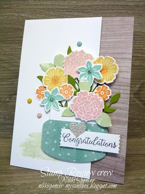 Nikki Spencer-My Sandbox: Stamp Review Crew...Beautiful Bouquet.