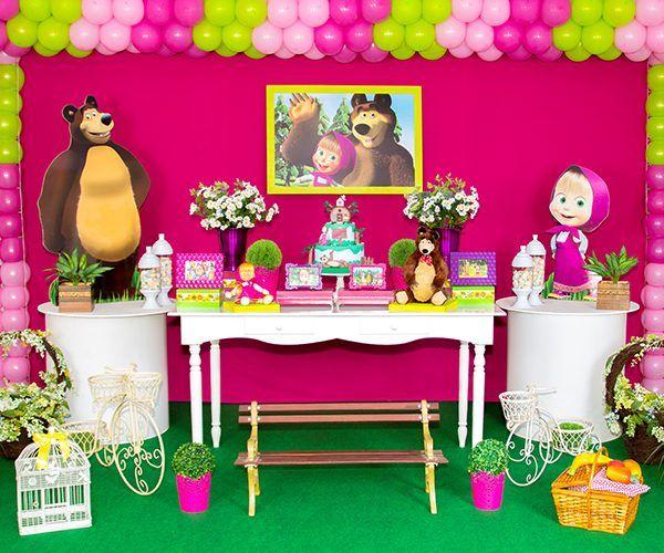 masha e o urso decoração - Buscar con Google