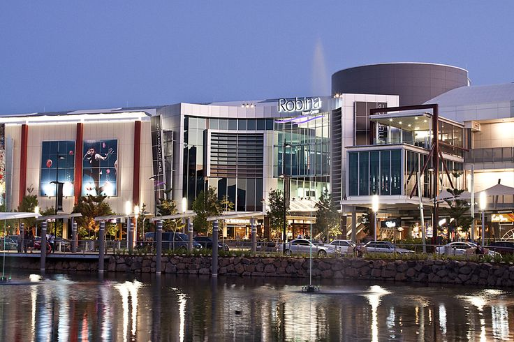 I went to Robina Town Centre and was a different shopping Mall from the ones in the US that I had been to. I went with friend who lives in Robina.
