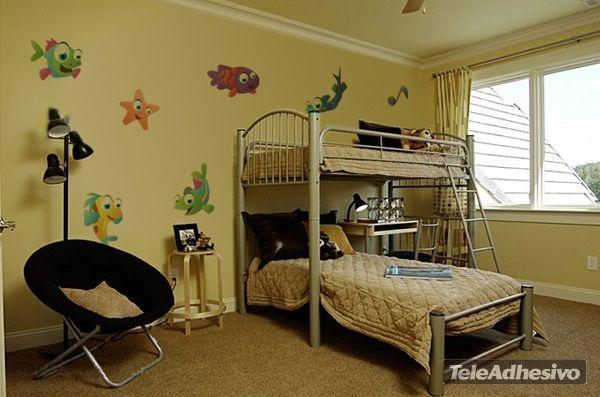 Kinderzimmer Wandtattoo Fish 4