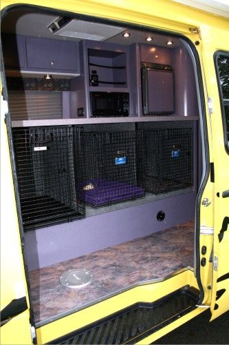Dog Transporter - Sprinter Conversion Van Custom