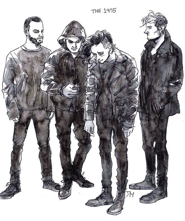 The 1975. This is my favorite piece of fan art