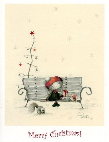 Merry Christmas by Maricarmen Pizano (Kind of cute...), via Flickr