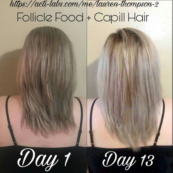 Long, thick, amazing hair in two weeks or less!! Follicle Food and Capill hair work!! https://acti-labs.com/me/lauren-thompson-2/hair/