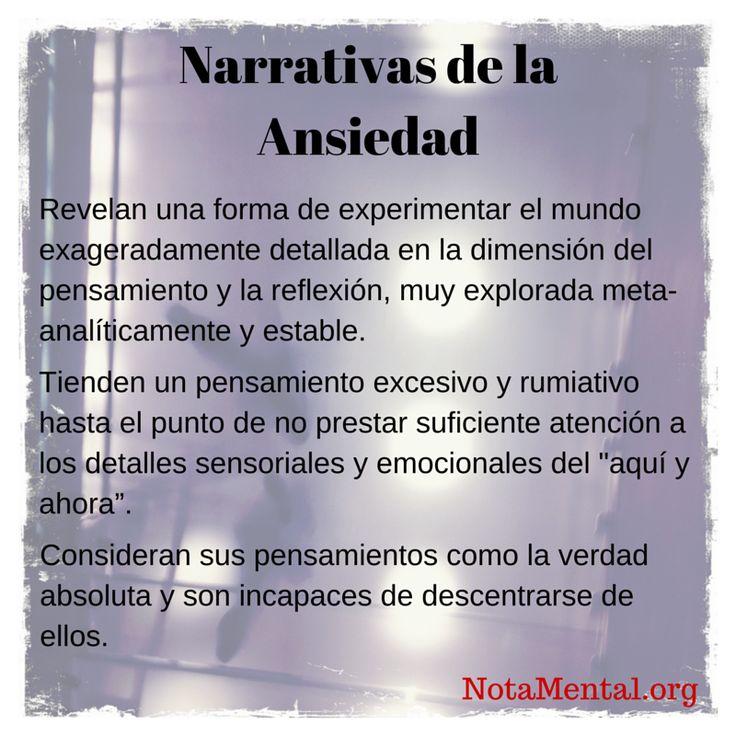 NotaMental: Narrativas de la depresión, narrativas de la ansiedad: similitudes y diferencias.