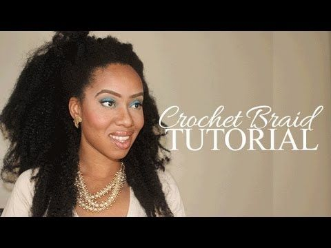 How to Crochet Braid w/ Bobby Pin Tutorial – If you have enough hair to cornroll…