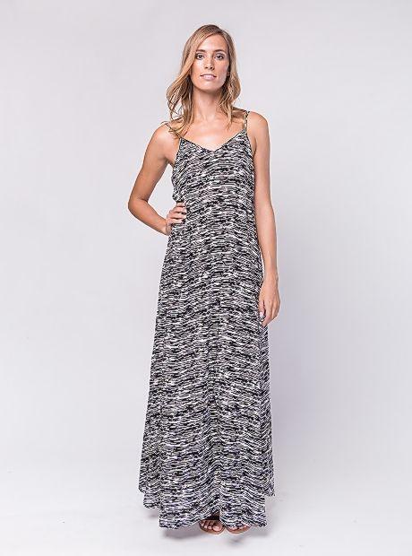 Deniz Dress / Black Zebra | #BuddhaWear  $99.90 AUD  #ethical #sustainable #fashion #womenswear #summer #ss16