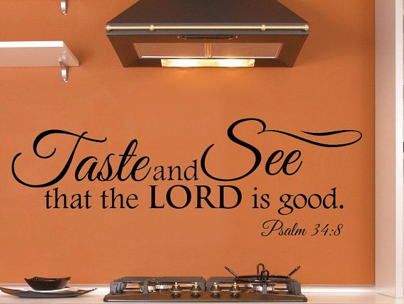 Kitchen Scripture Wall Decor