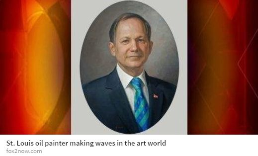 ARC Living Master™ Patricia Watwood was recently invited by the Fox 2 Morning News show to do a segment with St. Louis Anchor John Pertzborn. She recently painted a portrait of Father Lawrence Biondi for St. Louis University, which is also discussed in the interview.   To watch the interview, please visit http://fox2now.com/2017/04/27/st-louis-oil-painter-making-waves-in-the-art-world/.