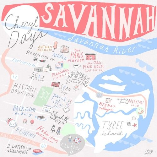 24 hours in Savannah, Georgia with Cheryl Day