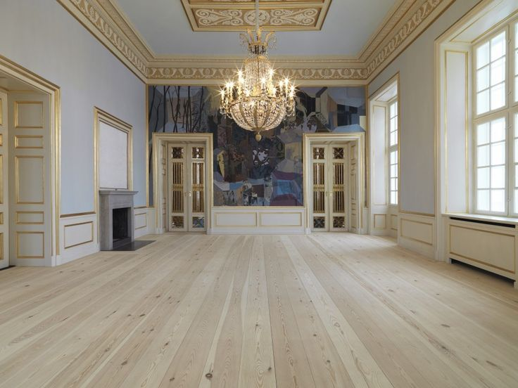 SOAP: The Other Floor Finish - Frederik VIII's Palace, Amalienborg Castle featuring soap finished floors by Dinesen