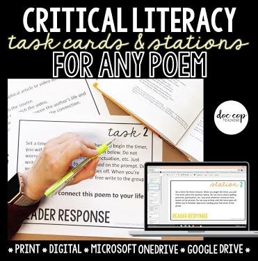 National Poetry Month with Mud and Ink Teaching - Recommended Resources