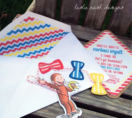 vintage curious george inspired 2nd birthday party| leslie nash designs