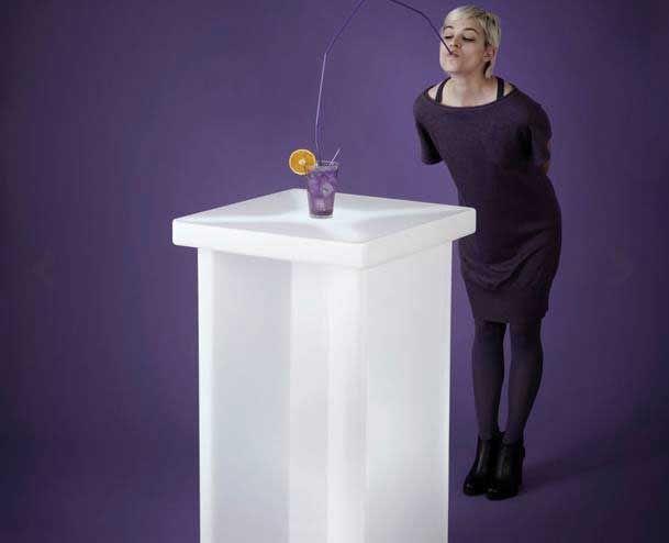 Slide Design Leuchttisch / Stehtisch X2 kaufen im borono Online Shop