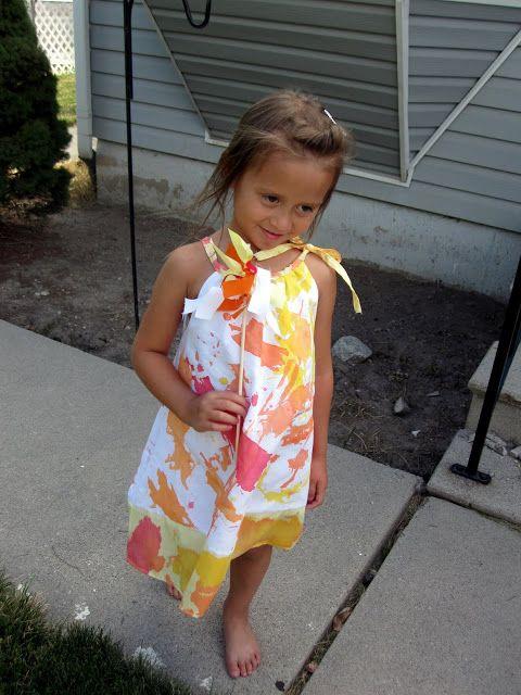 Tutorial: Painted Dresses - Rae Gun Ramblings