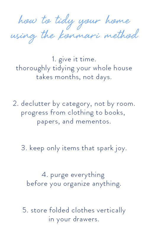 my five biggest takeaways from marie kondos the life changing magic of tidying up and a konmari method checklist for tidying your home - How Do I Declutter My House