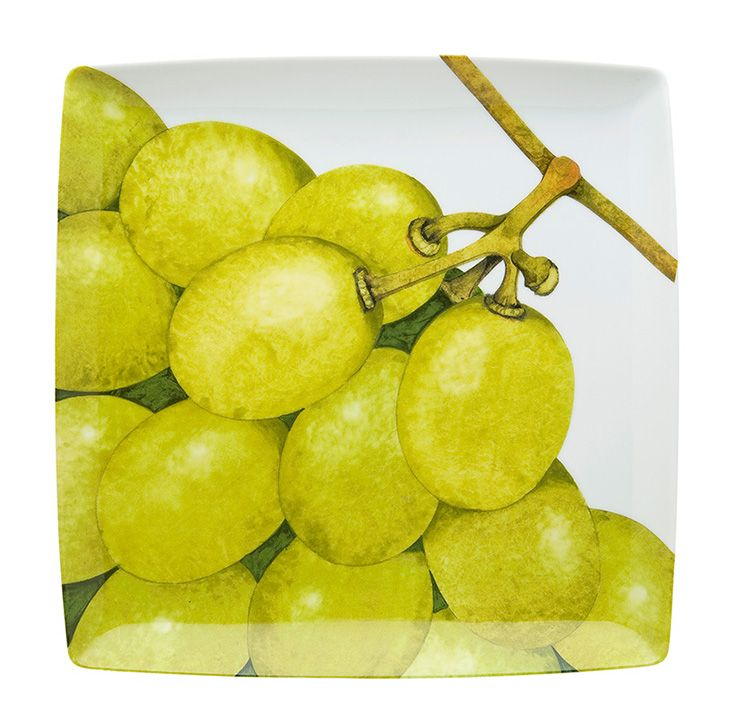 TROPICS - Charger Plate Grapes