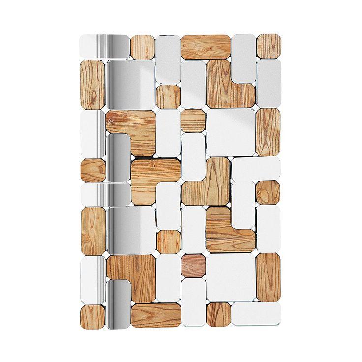Spiegel Patience - Massivholz Trompetenbaum - Braun/Spiegelglas, Kare Design Jetzt bestellen unter: http://www.woonio.de/produkt/spiegel-patience-massivholz-trompetenbaum-braunspiegelglas-kare-design/