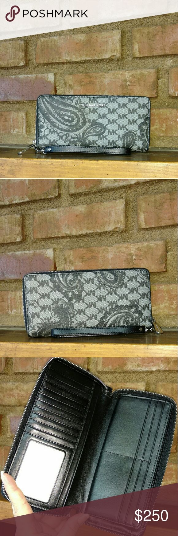 Paisley Travel Continental Wallet Michael Kors Studio Heritage Collection Paisley Travel Continental Wallet MICHAEL Michael Kors Bags Wallets