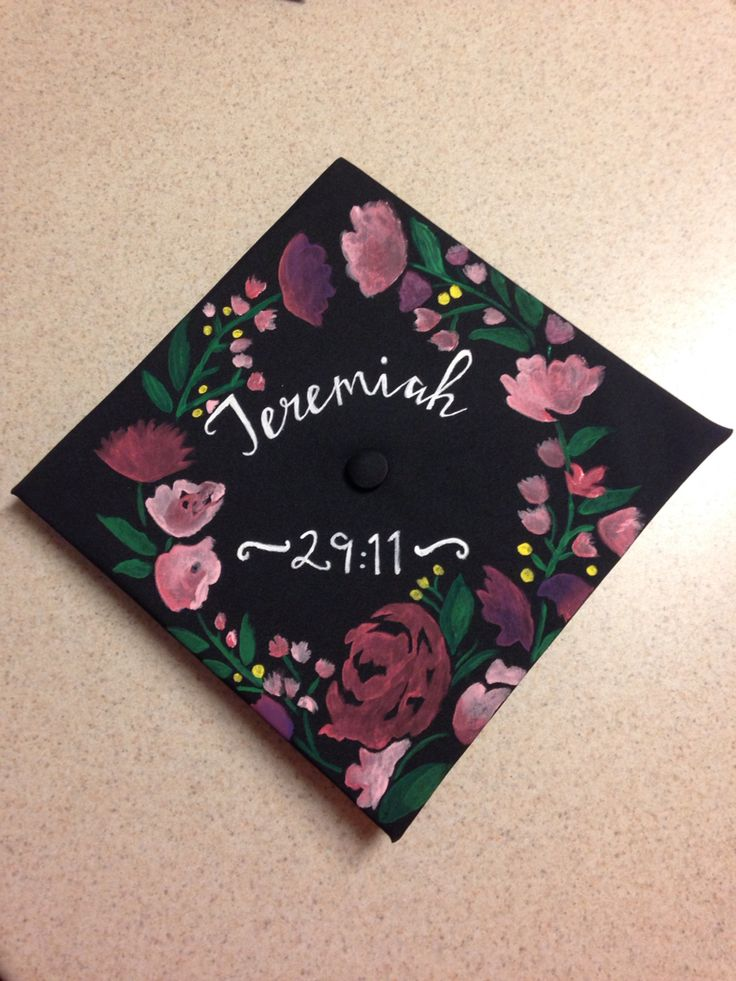 My grad cap I painted for my graduation at Iowa State University in December 2015.