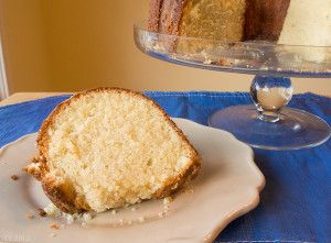 Tried-and-True Classic Buttery Pound Cake