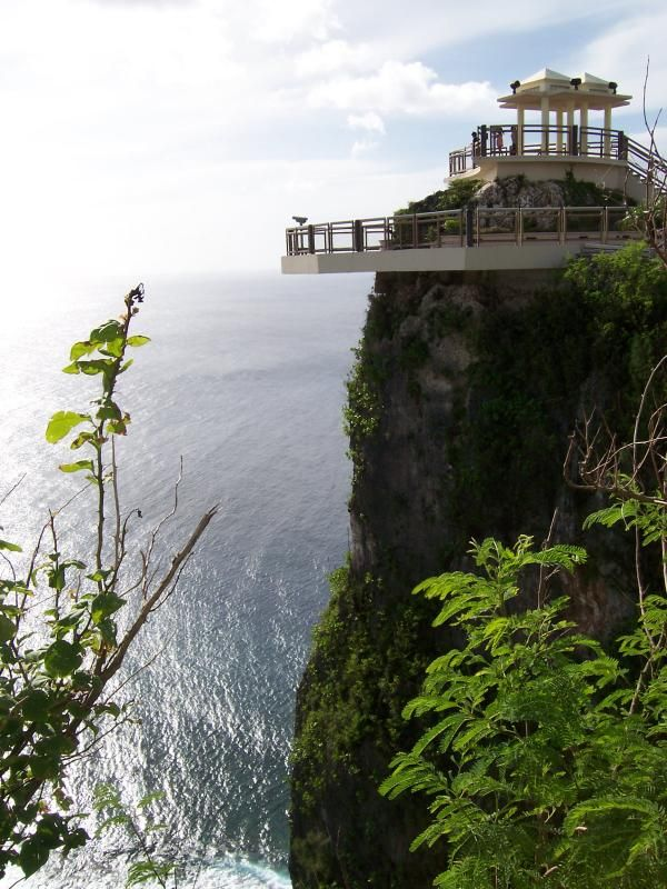 """Guam, USA....This is """"Two Lovers Point"""""""