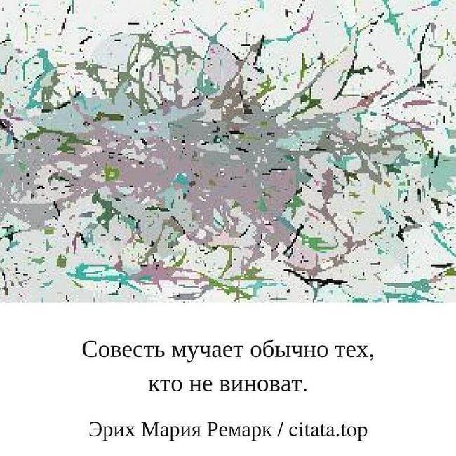 Так и бывает в жизни. Совесть мучает обычно тех кто не виноват. Ремарк. #цитаты #афоризмы #правильно #мнение #люди #принципы #человек #следуй #питер #москва #вина #лайк