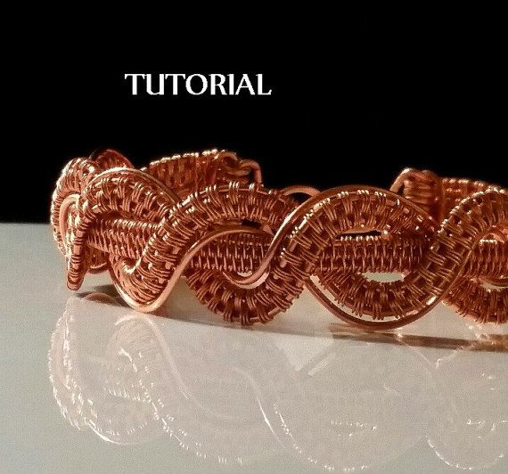 TUTORIAL Twisted Braid Copper Bracelet от MaxxBelleCreations