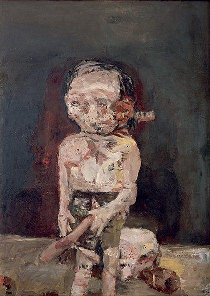 Georg Baselitz, Die große Nacht im Eimer, 1963