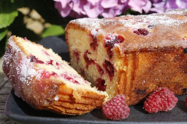 JibberJabberUK: Raspberry, lemon and yogurt loaf cake