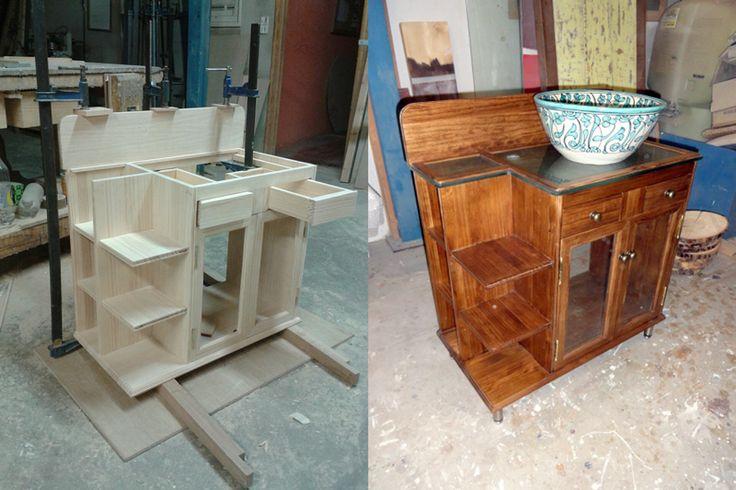 Mucho trabajo hay detr s de este mueble para ba o - Mueble para el bano ...