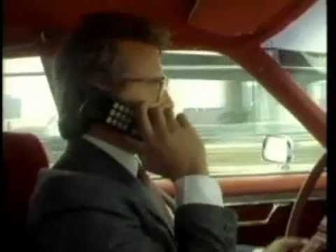 """Motorola Mobile Phone: The booming industry of """"cellular radio telephones"""" as seen in the 1980s. Join the cellular revolution!"""
