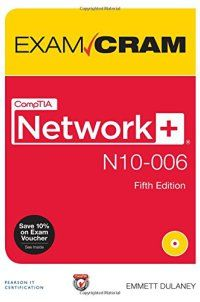 - 078975410X - CompTIA Network+ N10-006 Exam Cram (5th Edition) - http://lowpricebooks.co/078975410x-comptia-network-n10-006-exam-cram-5th-edition/
