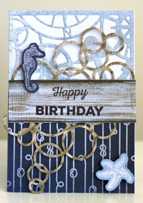 Kaisercraft Sail Away Cards by Alicia McNamara
