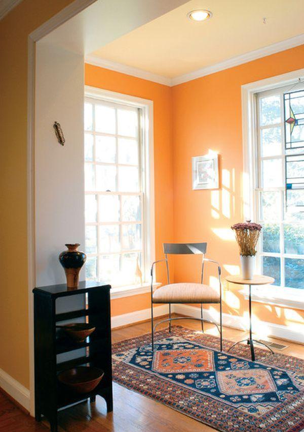 Orange Color Bedroom Walls Fair Design 2018