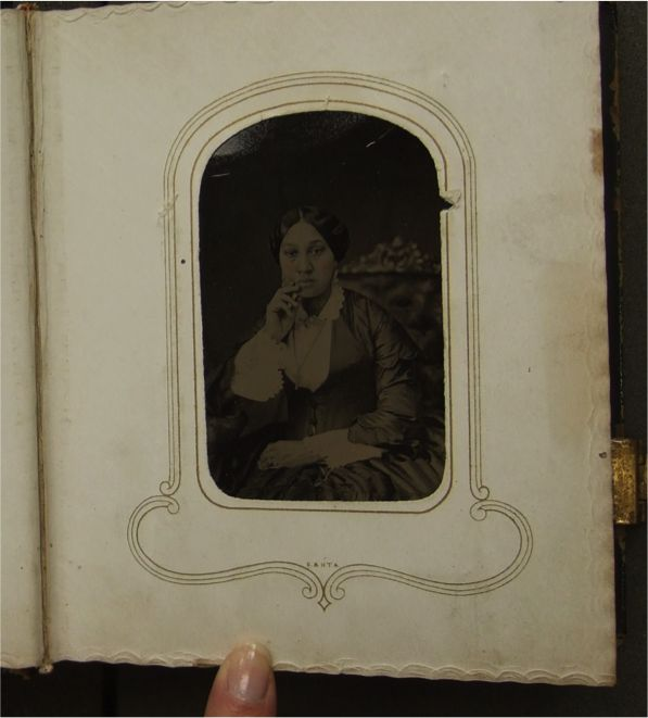 A picture of Ms. Chapman herself. What motivated her to create two beautiful photo albums (Housed at the Clements Library at @uofmichigan) filled with pictures of family and famous figures from the time period? #umichDAAS336 #ArabellaChapman #UniversityofMichigan