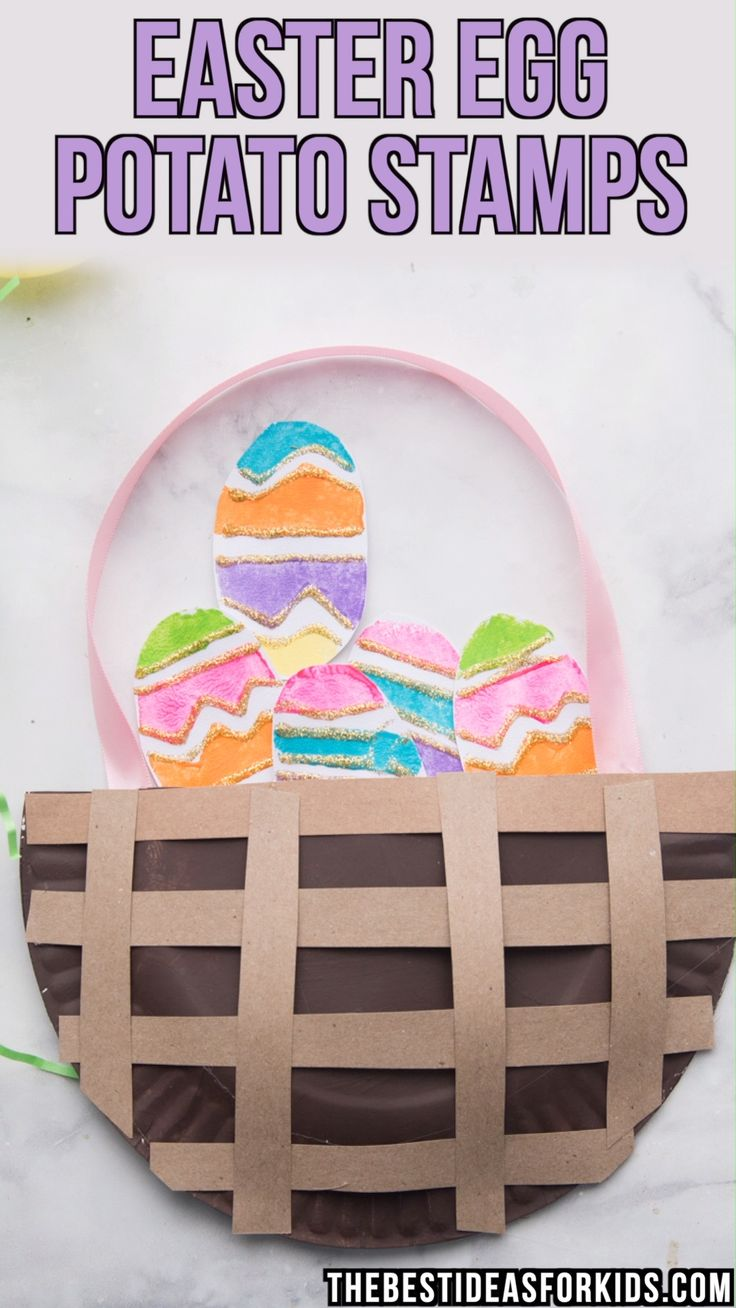 EASTER EGG POTATO STAMPS