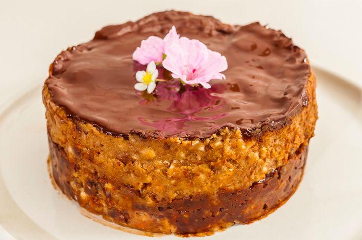 Bajadera, light baked Croatian cake without baking