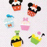 ミッキーやドナルドたちの手作りカップケーキカードの作り方(ディズニーカード)