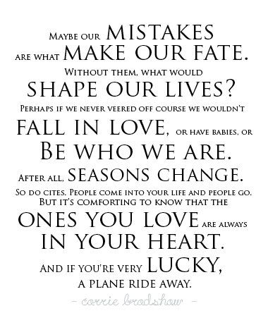Love - Carrie Bradshaw