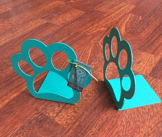 Book Ends  Metal Book Ends laser cut bookends by NudoDiseno
