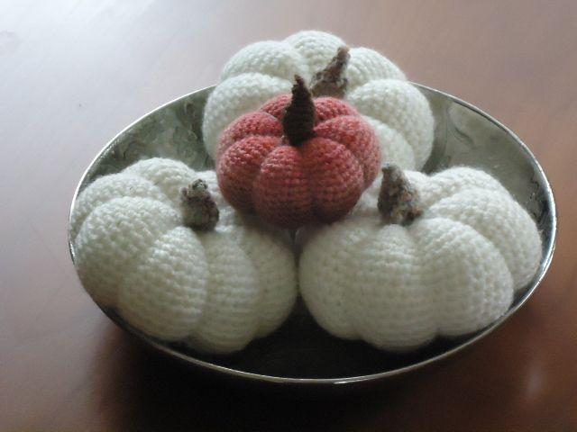 gehaakte pompoenen