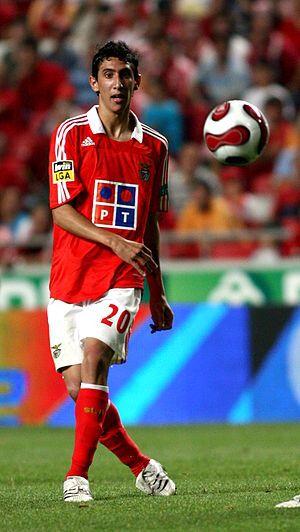 Angel Di Maria, SL Benfica