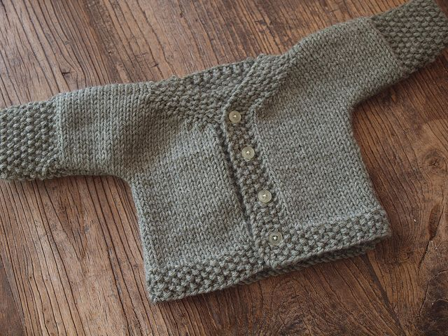 Maybe i'll start with this baby sweater, since my cousin ...