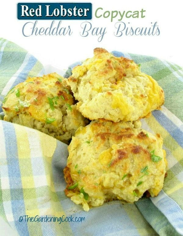 This Red Lobster copy cat cheddar bay biscuit recipe gives you the restaurant taste at home in just minutes. thegardeningcook.com