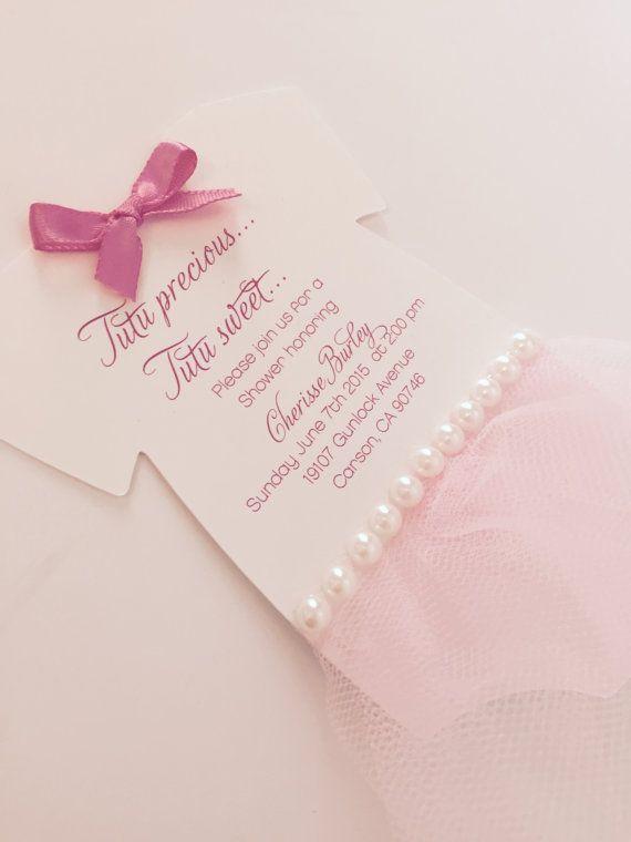 baby onesie tutu invitation deposit by anaderoux on etsy
