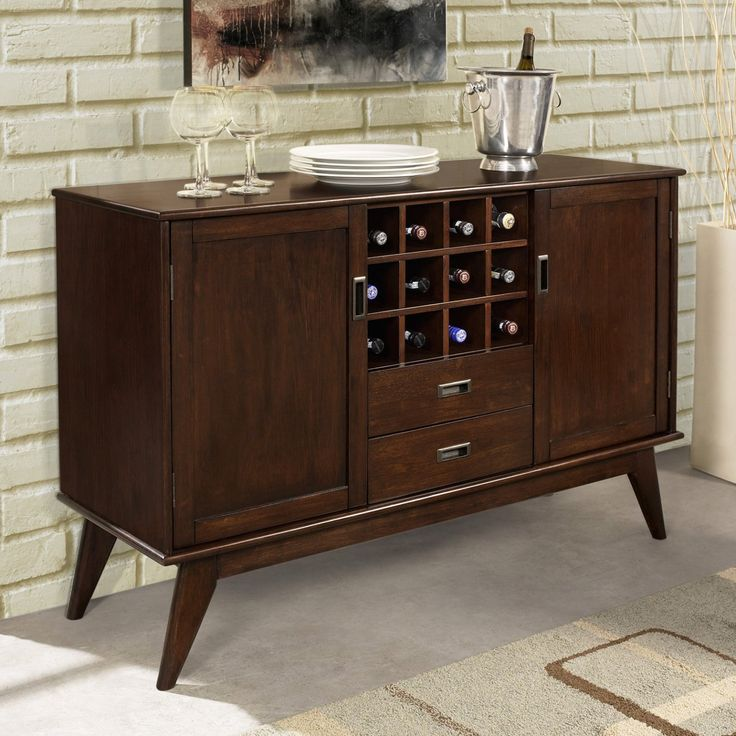 Dining buffet with wine rack 414 best