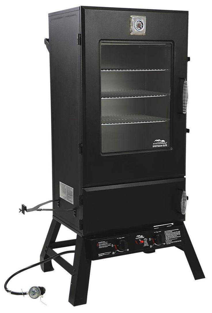 Masterbuilt Sportsman Elite 44'' Two Door Propane Smoker with Viewing Window | Bass Pro Shops